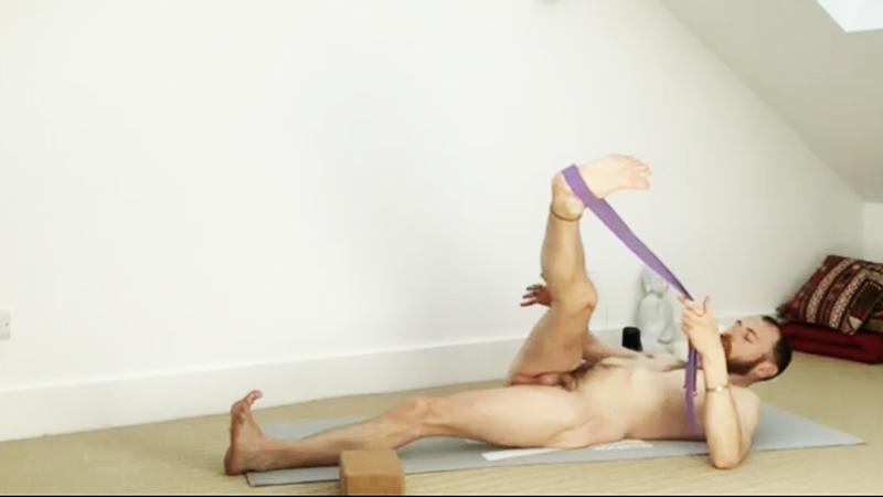 Gentle hip opener yoga
