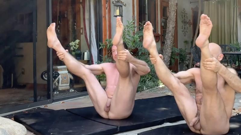Naked Pilates –  with Pierce Paris